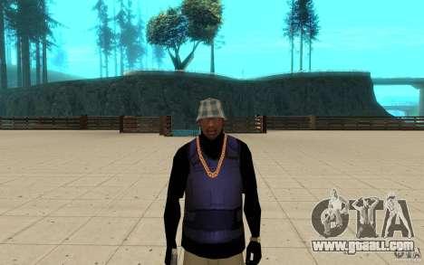 Bronik skin 3 for GTA San Andreas third screenshot