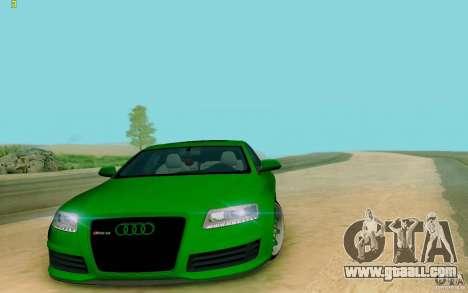 Audi RS6 OTIS for GTA San Andreas