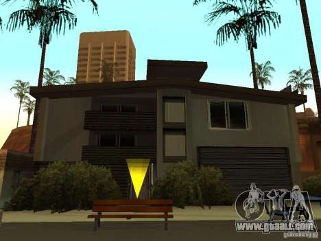 The modified House on the beach of Santa Maria 2 for GTA San Andreas