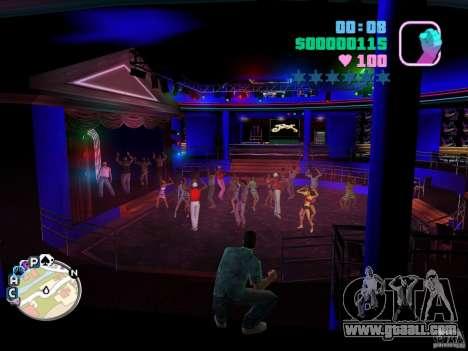 Club VIP Club Malibu new textures for GTA Vice City second screenshot