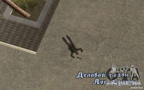 Unique animation of GTA IV V3.0 for GTA San Andreas seventh screenshot