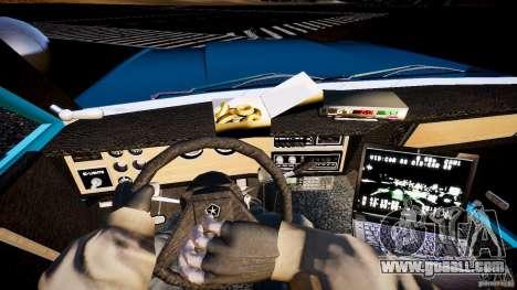Dodge Diplomat 1983 Police v1.0 for GTA 4 back view