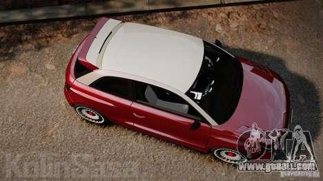 Audi A1 Quattro for GTA 4 right view