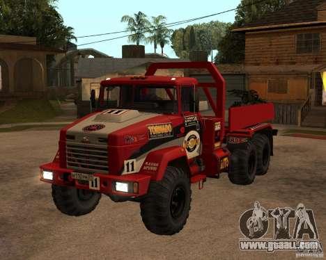 KrAZ-6322 Trial for GTA San Andreas