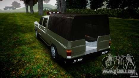 Chevrolet D20 Brigada Militar RS for GTA 4 side view