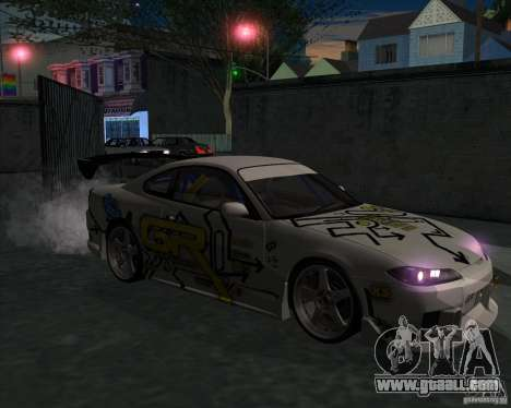 Nissan Silvia S15 Tunable for GTA San Andreas right view