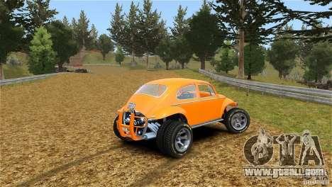 Baja Volkswagen Beetle V8 for GTA 4 left view
