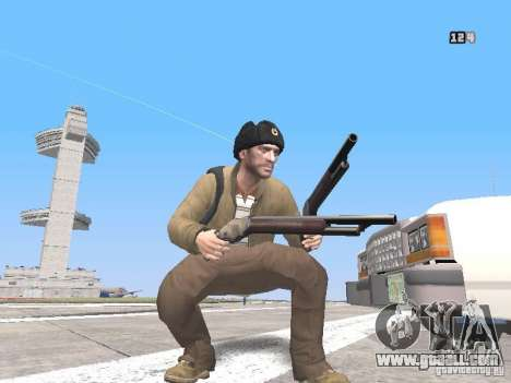 HQ Weapons pack V2.0 for GTA San Andreas third screenshot
