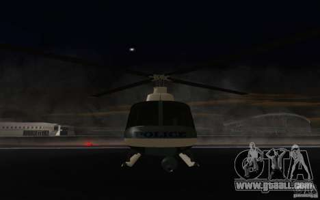 GTA IV Police Maverick for GTA San Andreas left view