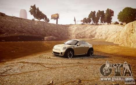Mini Coupe Concept v0.5 for GTA 4 inner view