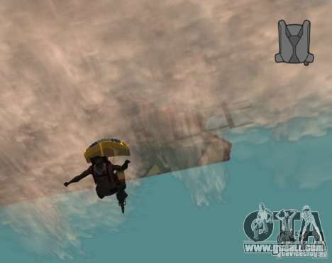 Endless Chute for GTA San Andreas second screenshot