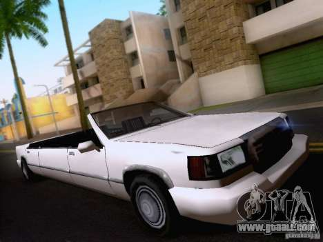 Stretch Cabrio for GTA San Andreas