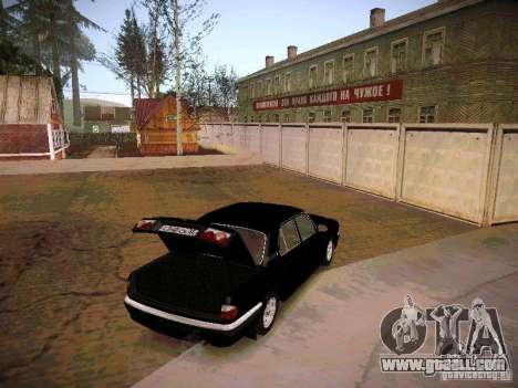 GAZ Volga 31105 S60 for GTA San Andreas inner view