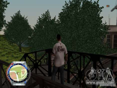CM PUNK 2011 attaer for GTA San Andreas forth screenshot