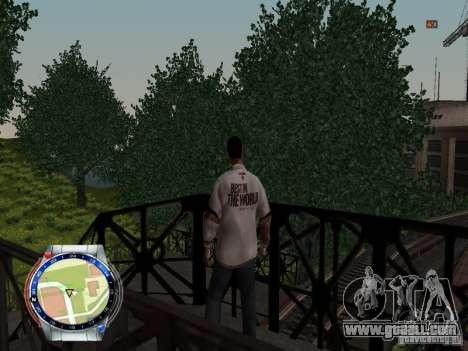 CM PUNK 2011 attaer for GTA San Andreas forth screenshot