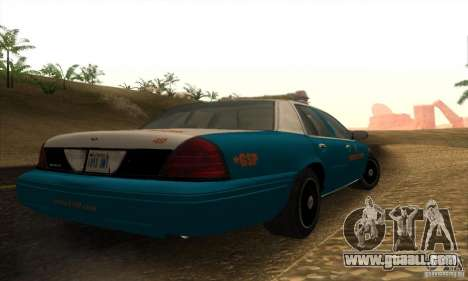 Ford Crown Victoria Georgia Police for GTA San Andreas left view