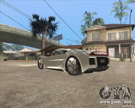 Saleen S5S Raptor for GTA San Andreas left view