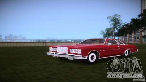Ford LTD Brougham Coupe for GTA Vice City