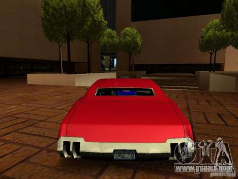 Charger Sabre for GTA San Andreas left view