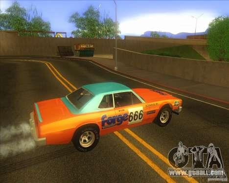 Jupiter Eagleray MK5 for GTA San Andreas back view