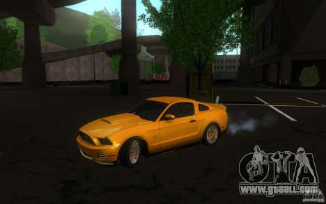Ford Mustang GT V6 2011 for GTA San Andreas left view