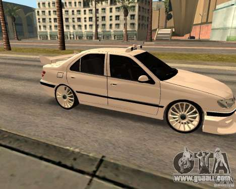Peugeot 406 Taxi 2 for GTA San Andreas left view