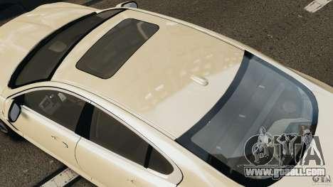 Jaguar XFR 2010 v2.0 for GTA 4 back left view