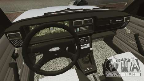 Vaz-2107 Mansory for GTA 4 inner view