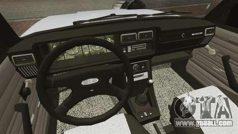 Vaz-2107 Mansory for GTA 4 inner view