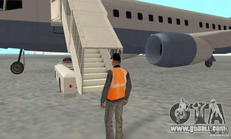 Airport Vehicle for GTA San Andreas eighth screenshot