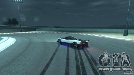 Pagani Zonda Cinque 2009 for GTA 4 side view