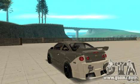 Chevrolet Cobalt SS NFS ProStreet for GTA San Andreas back left view