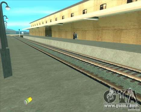 The high platforms at railway stations for GTA San Andreas seventh screenshot