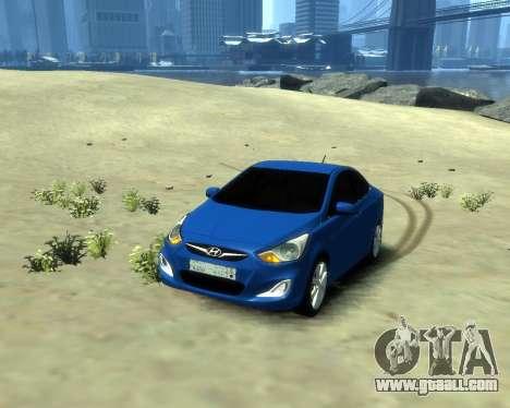 Hyundai Solaris Arab Edition for GTA 4