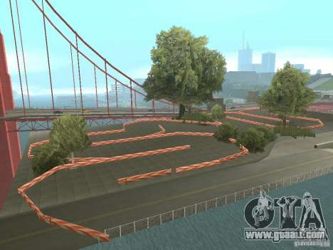 New Drift Track SF for GTA San Andreas