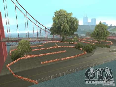 New Drift Track SF for GTA San Andreas