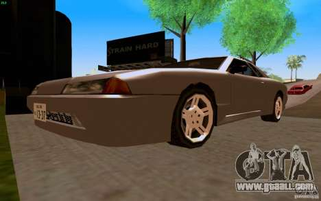 New Elegy for GTA San Andreas back view