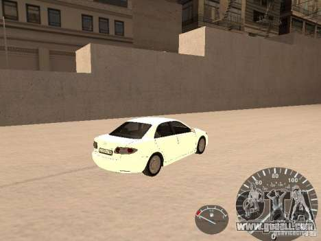Mazda 6 2004 for GTA San Andreas back left view