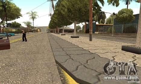 Grove Street 2012 V1.0 for GTA San Andreas forth screenshot