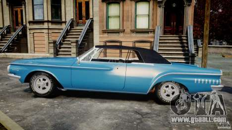 Dodge Dart 440 1962 for GTA 4 left view