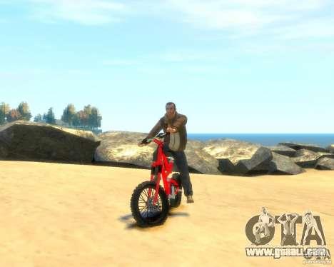Mountain bike for GTA 4 right view