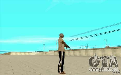 Pants adidas for GTA San Andreas second screenshot