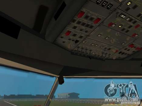 Airbus A330-300 Turkish Airlines for GTA San Andreas bottom view