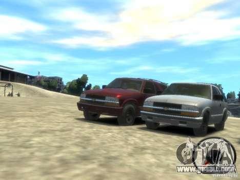 Chevrolet Blazer LS 2dr 4x4 for GTA 4 left view