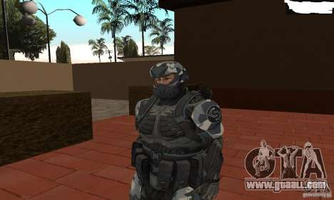 Crysis NanoSuit 2 for GTA San Andreas