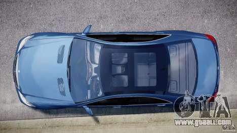 Mercedes-Benz S63 AMG [Final] for GTA 4 interior