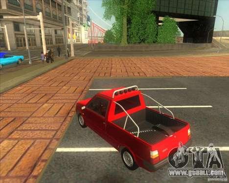 SEAZ Oka Pickup for GTA San Andreas left view