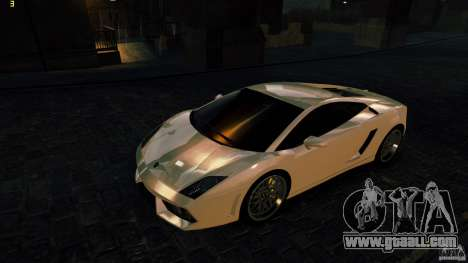 Lamborghini Gallardo Hamann for GTA 4 back left view