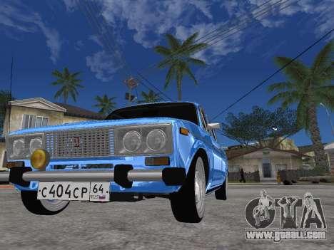 VAZ 2106 Retro V2 for GTA San Andreas right view