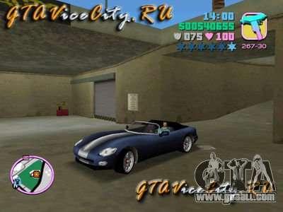 Dodge Viper from GTA 3 for GTA Vice City